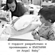 """Бебешка жилетка """"Звездички"""""""